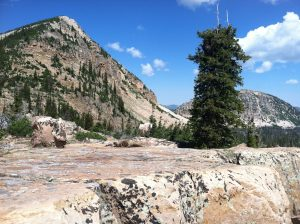 Hiking in the Uintas