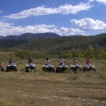 Guided ATV tour in the Wasatch Mountains