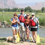 Family Rafting trip on the Weber River