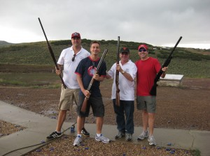 Trap shooting in Park City, UT