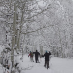Snowshoe tours, Park City, Utah