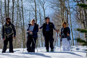 Park City snowshoeing tours