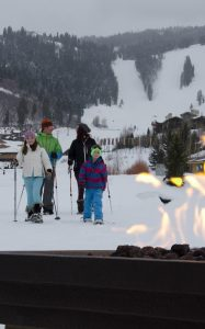Deer Valley snowshoe tours